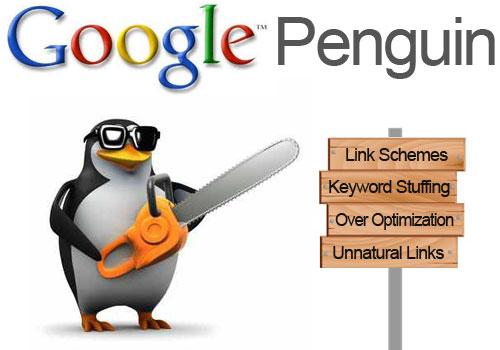 جوجل البطريق Google penguin