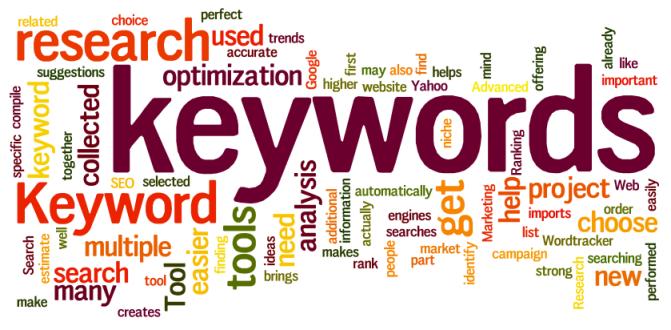 الكلمات المفتاحية keywords